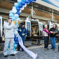 The Dedication to the new One Gondola at Vail. - ©Jack Affleck