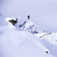 Huge air with Mica Heli-Skiing. - ©Eric Berger