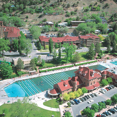 Sunlight Hot Springs Pool Overview