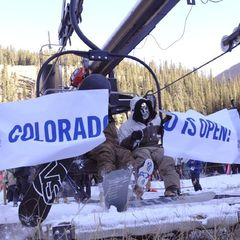 Arapahoe Basin first chair opening day