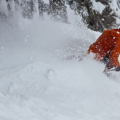 Powder turns at Mt. Hood Meadows.