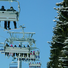 Chairlift in Winterberg