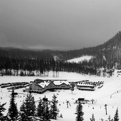 Hoodoo Lodge at Hoodoo Ski Area in Oregon. Photo courtesy of Hoodoo Ski Area.
