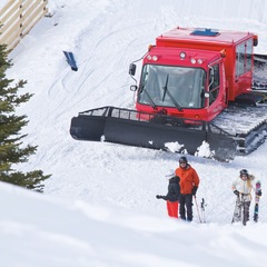 Three Forks Ranch near Steamboat offers snowcat skiing.