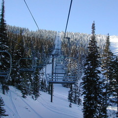 Sunrise at Triple Lift at Pomerelle. Photo courtesy of Pomerelle Mountain Resort.