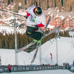 Pro freeskier Tanner Hall took sixth place in the men's freeski superpipe finals at the Dew Tour in Breckenridge.