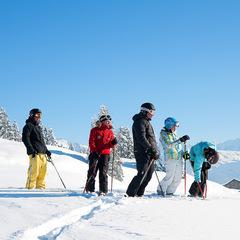 Grand ski aux Gets, sur l'immense domaine des Portes du Soleil - ©D.Bouchet / OT Les Gets