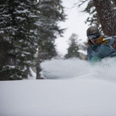 The new snow makes for great powder skiing in December at Squaw Valley - ©Matt Palmer