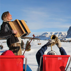 Swing on Snow Festival at Seiser Alm