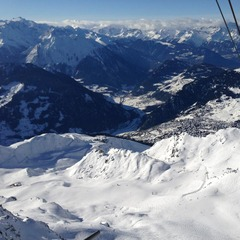 Verbier ski area. Dec. 30, 2012.