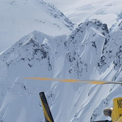 The chopper at Silverton Mountain.