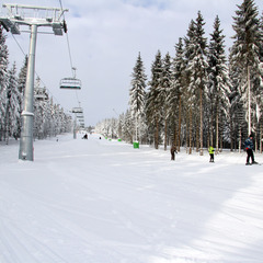 Winterberg Skiliftkarussell