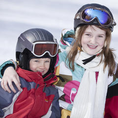 Family Sundays package include lift, lesson and rentals for up to 3 kids and their parents. Photo Courtesy of Mont-Sainte-Anne.
