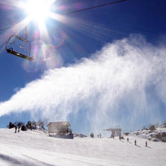 Perisher Blue snowmaking