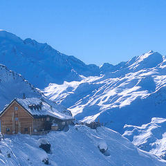 Cabane du Mont Fort, Verbier