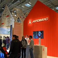 Atomic auf der ISPO2013 - ©Skiinfo