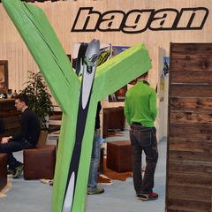 The Hagan Y at ISPO 2013 - ©Skiinfo