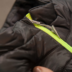 The Chris Davenport Exit Vest from Spyder features an insulated front and stretch fleece on the back. It is so light that you can barely feel it.