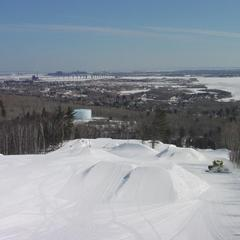Spirit Mountain big air terrain park