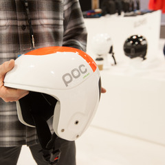 The Skull Orbic Race Helmet with VPD 2.0 from POC uses Body Armour material to keep wear and tear down on the helmet so it can last longer.