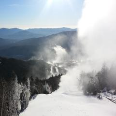 Snowmaking and grooming operations over the last week helped to recover from the rain and warm temperatures that came at the end of January.