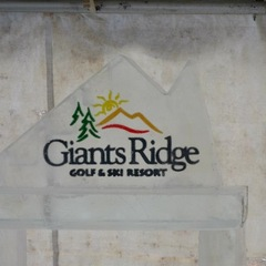 The Giants Ridge ice bar.