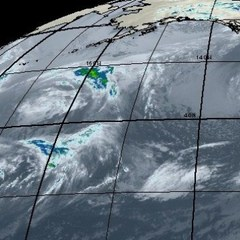 Pacific Storm Approaches the West Coast