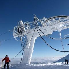 Point neige dans le Massif Central (28/02/2013)