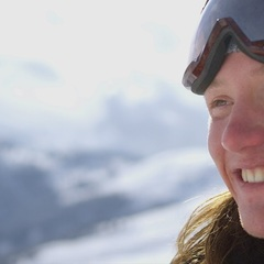 UK freeskier James 'Woodsy' Woods - ©BBC