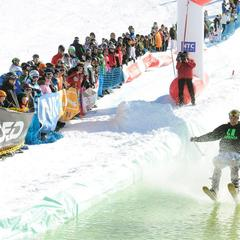 Snow Beach Party de Nassfeld Pressegger See