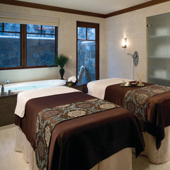 The world class spa at Four Seasons Vail.