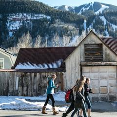 The town of Telluride is a mix of old and new.