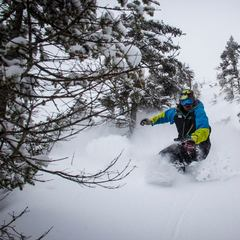 April 2 brought a surprise late season powder day to northern resorts like Jay Peak in Vermont. - ©OpenSnow.com