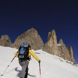 Schneeschuhwandern bei den Drei Zinnen im Hochpustertal - ©Norbert Eisele-Hein