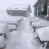 Snowfall in the Alps Sept. 20, 2017 - ©Facebook Schladming-Dachstein