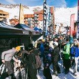 Čerstvý sneh v Alpách 24.11.18 - © Val Thorens/Facebook