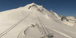 Conditions idéales à l'approche de la saison de ski d'été