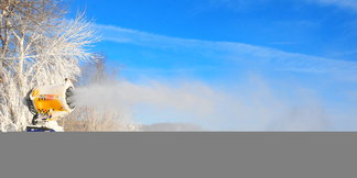 Snowmaking Underway at Hidden Valley Resort and Seven Springs Mountain Resort ©Anna Weltz, Communications Manager