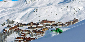 Snowiest French ski resort of the week ©P. Royer / OT la Plagne