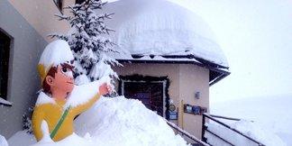 V Rakúsku opäť silno sneží! ©Heidi-Hotel Falkertsee/Facebook