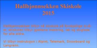 Nytt av Året - Skiskole på Hallbjønnsekken ©Tor Einar Lie