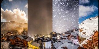 Francúzsko: Obrovské lyžiarske areály vo veľkých nadmorských výškach ©Dré d'dans production