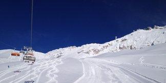 Snowiest Resort of the Week: Jasný víťaz 10. týždňa - nemecká Zugspitze ©Bayerische Zugspitzbahn