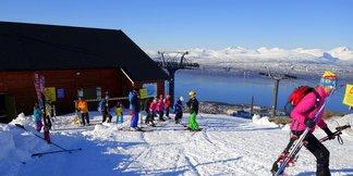 Lørdag 21. mars starter høysesongen - ©Narvikfjellet AS