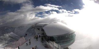 Pierwszy śnieg w Północnych Alpach: zobacz zdjęcia z ośrodków ©Facebook Pitztaler Gletscher