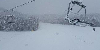 Nevicate in corso in Abruzzo! [Fotogallery] ©Campo Felice Ski Facebook