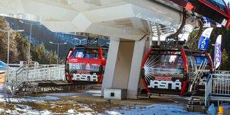 Jasná: První jízda nové lanovky Krupová - Kosodrevina - © TMR