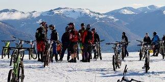 Snow Bike Contest 2017 à Ax 3 Domaines - ©Sebrover Prods
