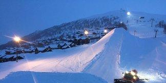 Mest snø i Myrkdalen ©Myrkdalen Fjellandsby