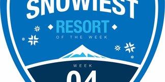 Sneeuwrijkste gebied week 4: derde keer op rij voor Frankrijk ©Skiinfo.de